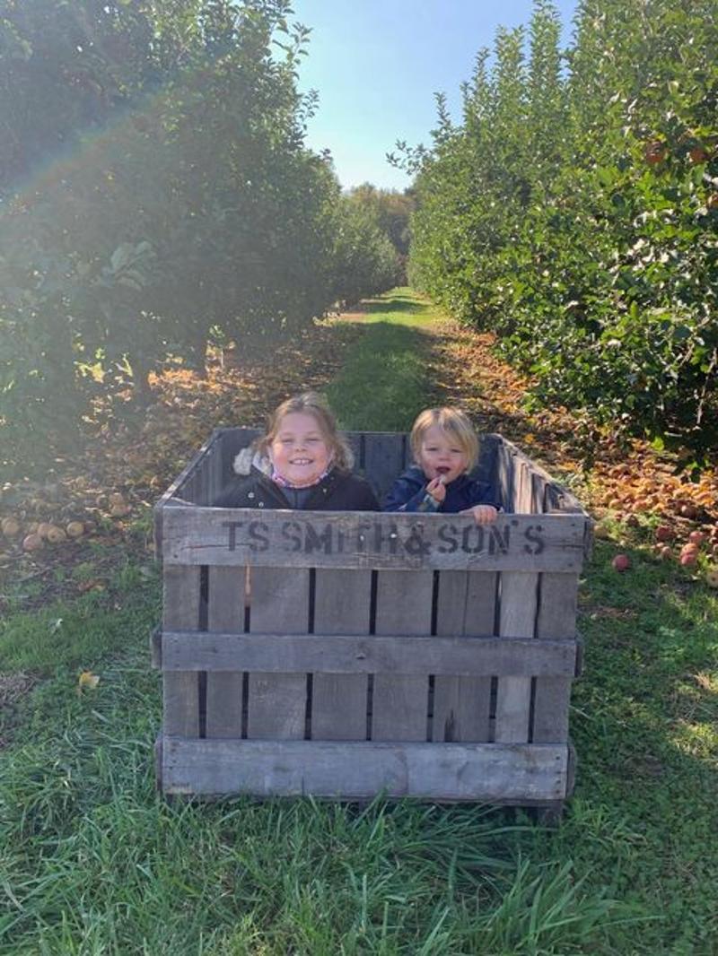 Happy Apple Pickers